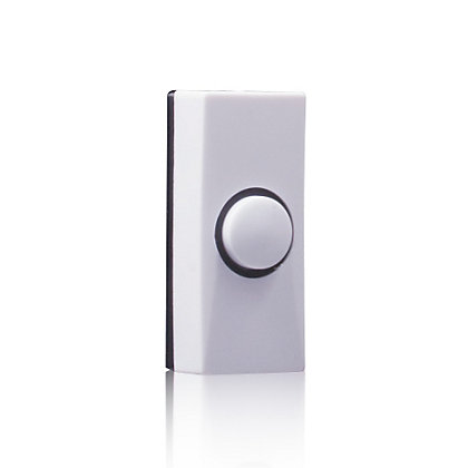 Image for Homebase 7910 Wired Bell Push - White from StoreName