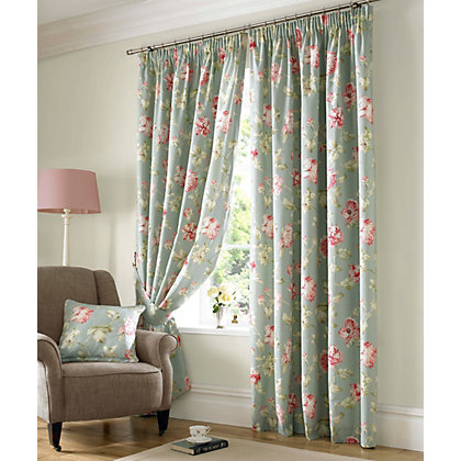 apsley sorbet curtain 117cm x 183cm at homebase be inspired and make your house a home buy now. Black Bedroom Furniture Sets. Home Design Ideas