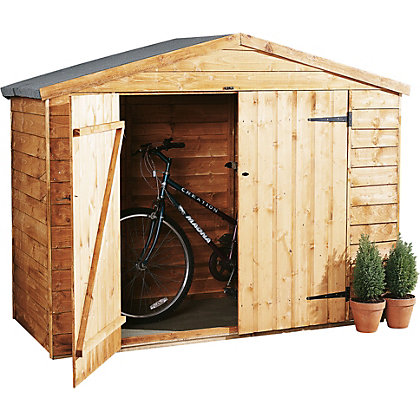 Image for Forest Wooden Bike Store - 6ft 11in x 2ft 9in from StoreName