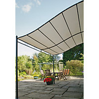 Wall Mounted Garden Gazebo 3m.