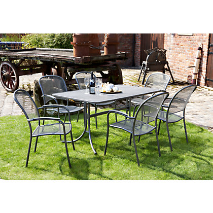 Royal Garden Carlo Garden Chairs Set Of Two At Homebase Be Inspired And Make Your House A