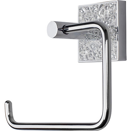 Holding page Glass toilet roll holder
