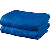 ColourMatch Pair of Hand Towels - Marina
