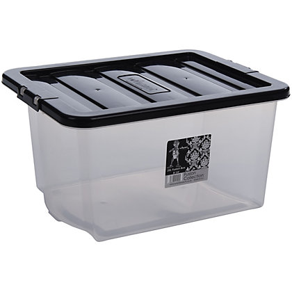 Image for Crystal 35L Storage Box from StoreName