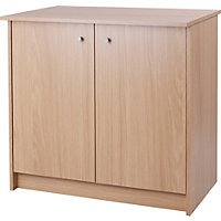 Malibu Oak Double Cupboard.