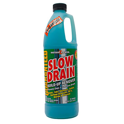 Image for Scotch Corporation Slow Drain Liquid Build Up Remover for Drains - 1L from StoreName