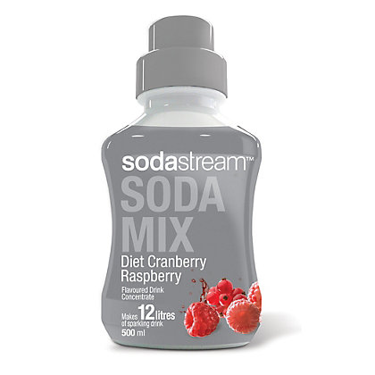 Image for SodaStream Flavour Diet Cranberry and Ra from StoreName