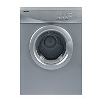 Bush TDV6S Vented Tumble Dryer - Silver/Exp Del.