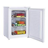 Bush BUCF6085W Under Counter Freezer- White/Exp Del.
