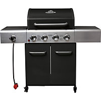 Outback Apollo 4 Burner Black Gas BBQ - Collect in Store