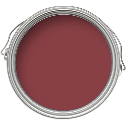 Image for Crown Fashion For Walls Crimson Kiss - Indulgence Matt Emulsion Paint - 2.5L from StoreName