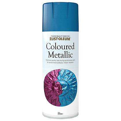 Image for Rust-Oleum Blue Metallic - Spray - 400ml from StoreName