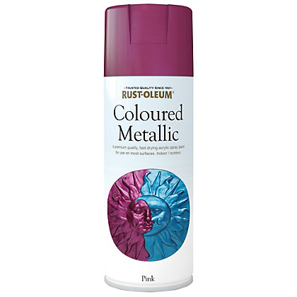 Image for Rust-Oleum Pink Metallic - Spray - 400ml from StoreName