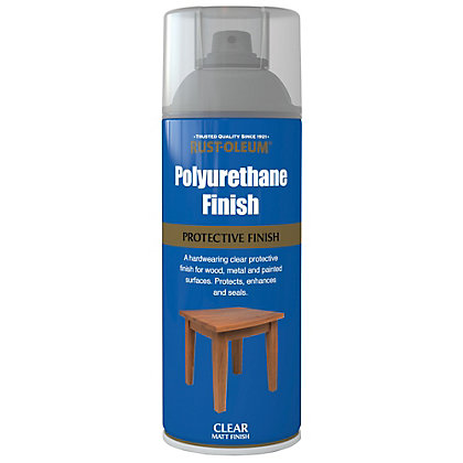 Image for Rust-Oleum Polyurethane Finish Matt - Spray - 400ml from StoreName