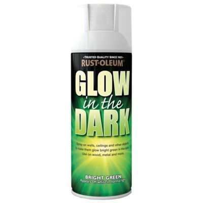 rust oleum glow in the dark paint 125ml 232533. Black Bedroom Furniture Sets. Home Design Ideas