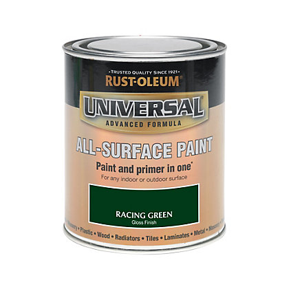 Image for Rust-Oleum Universal All Surface Paint - Racing Green - 750ml from StoreName