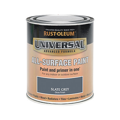 Image for Rust-Oleum Universal All Surface Paint - Slate Grey - 750ml from StoreName