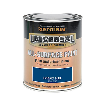 Image for Rust-Oleum Universal All Surface Paint - Cobalt Blue - 750ml from StoreName