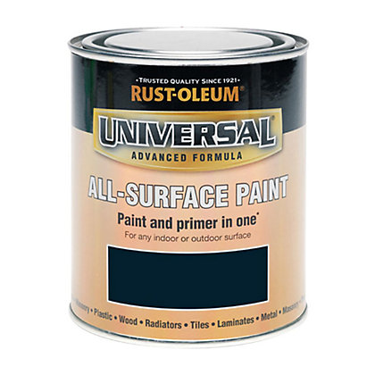 Image for Rust-Oleum Universal All Surface Paint - Navy Blue - 250ml from StoreName