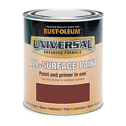 Image for Rust-Oleum Universal All Surface Paint - Deep Red - 250ml from StoreName