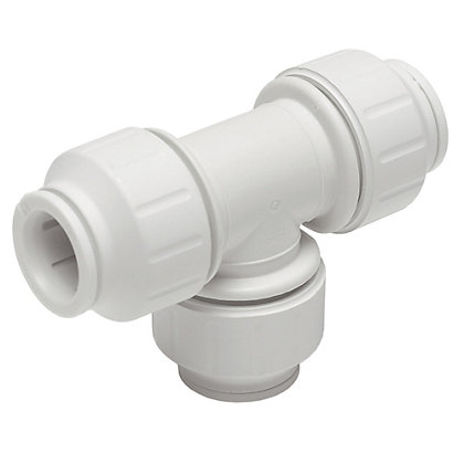Image for Easyfit Equal Tee Connector - Plastic - 22mm from StoreName