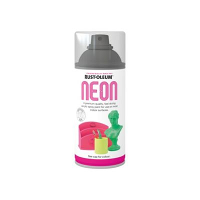 Rust-Oleum -  Neon Paint Yellow - Spray - 150ml