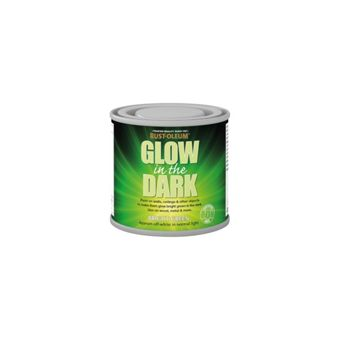 rust oleum glow in the dark paint 125ml. Black Bedroom Furniture Sets. Home Design Ideas