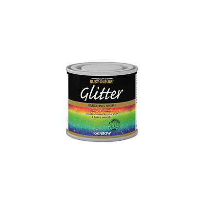 Image for Rust-Oleum Glitter Rainbow Paint - 125ml from StoreName