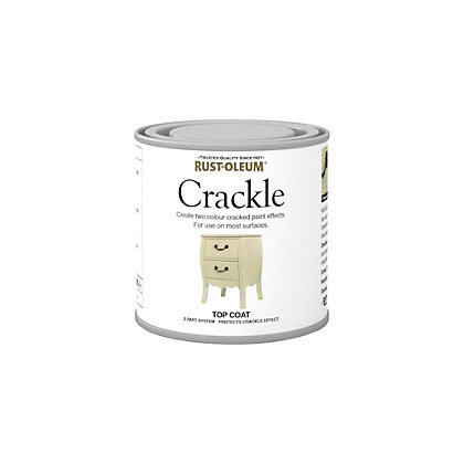 Image for Rust-Oleum Crackle Topcoat - 250ml from StoreName