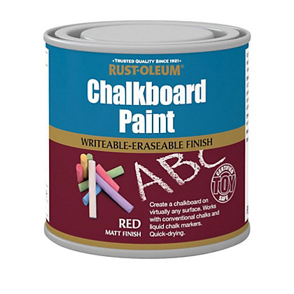 Image for Rust-Oleum Chalkboard Red - 250ml from StoreName