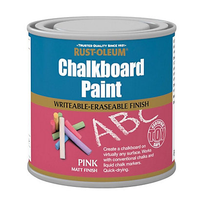 Image for Rust-Oleum Chalkboard Pink - 250ml from StoreName
