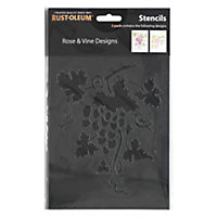 Rust-Oleum Stencil Rose and Vine Designs