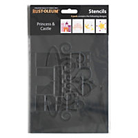 Rust-Oleum Stencil Princess and Castle
