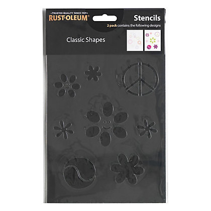 Image for Rust-Oleum Stencil Classic Shapes from StoreName