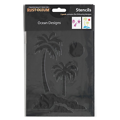 Image for Rust-Oleum Stencil Ocean Designs from StoreName