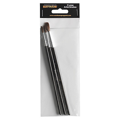 Image for Rust-Oleum Artist Brush Set - Large from StoreName