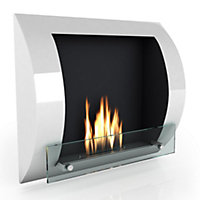 Imagin Fuego Bio Ethanol Fireplace - White