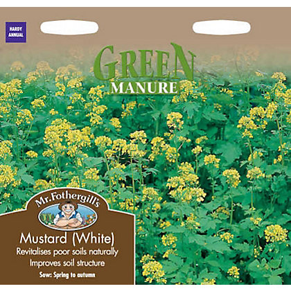 Image for White Mustard Green Manure (Sinapis Alba) Seeds from StoreName