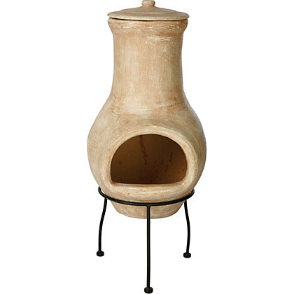 Image for La Hacienda Colca Clay Chimenea from StoreName