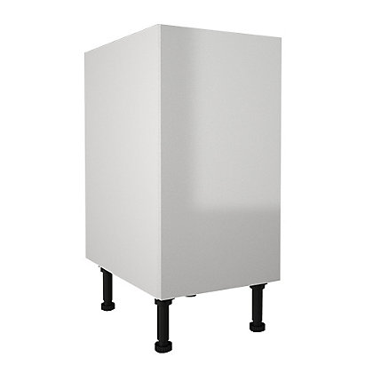 Image for Simply Hygena Chancery - Gloss White - 400mm Highline Base Unit from StoreName