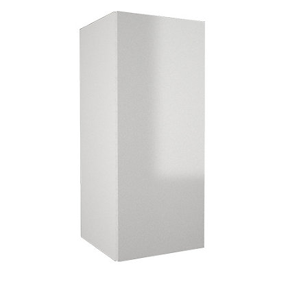 Image for Simply Hygena - Chancery Gloss - White - 300mm Wall Cabinet from StoreName