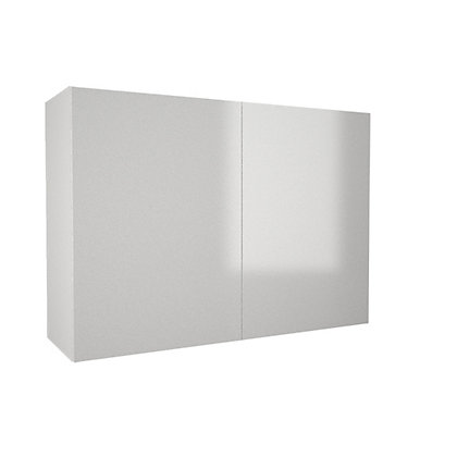 Image for Simply Hygena Chancery - Gloss White - 1000mm Wall Cabinet from StoreName
