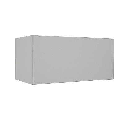 Image for Simply Hygena Chancery - Gloss White - 600mm Cooker Hood Cabinet from StoreName