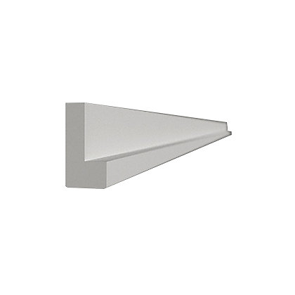 Image for Simply Hygena Cornice/Pelmet - White - 2400mm from StoreName