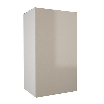 Image for Simply Hygena Chancery - Gloss Cream - 400mm Wall Cabinet from StoreName