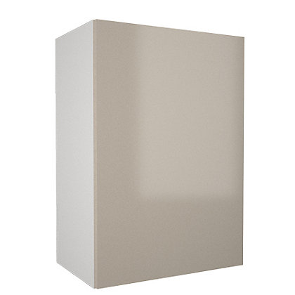 Image for Simply Hygena - Chancery Gloss - Cream - 500mm Wall Cabinet from StoreName