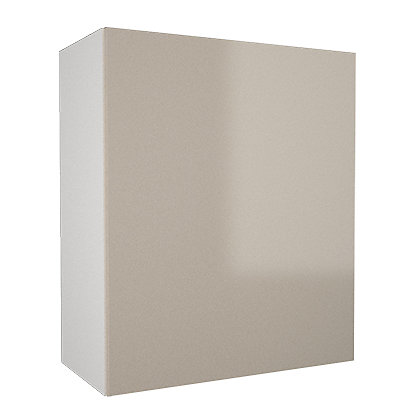 Image for Simply Hygena - Chancery Gloss - Cream - 600mm Wall Cabinet from StoreName