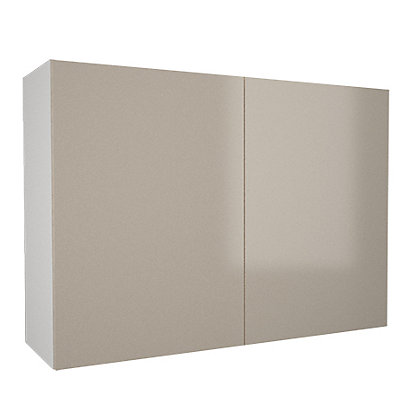 Image for Simply Hygena Chancery - Gloss Cream - 1000mm Wall Cabinet from StoreName