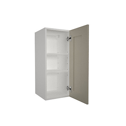 Image for Simply Hygena - Amersham - Grey - 300mm Wall Cabinet from StoreName