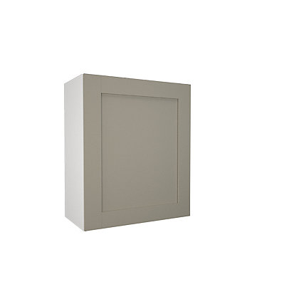 Image for Simply Hygena - Amersham - Grey - 600mm Wall Cabinet from StoreName